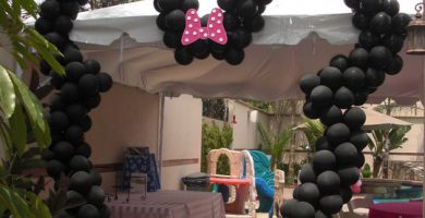 globos de minnie