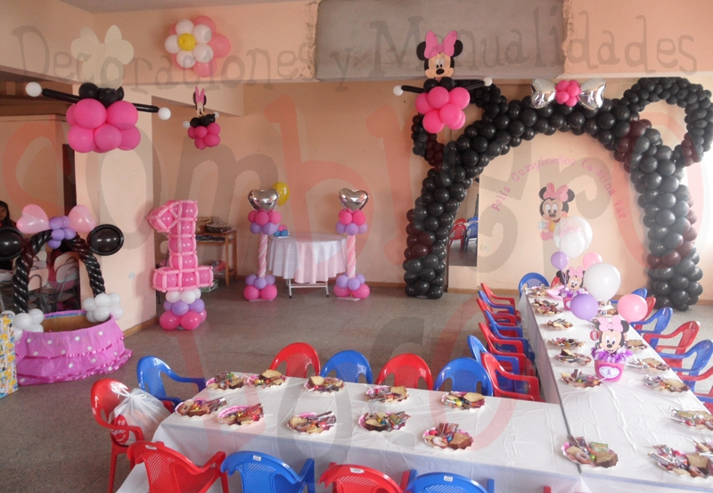 Decoracion Para Fiestas Infantiles De Minnie Mouse